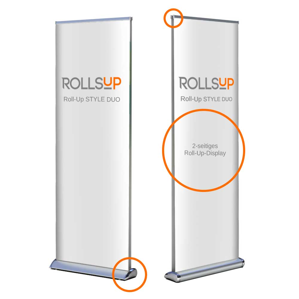 Roll-Up STYLE DUO